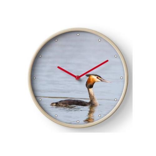 Haubentaucher Uhr