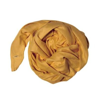 FABELAB - Organic Cotton Swaddle for Baby - Ochre Yellow - Clay