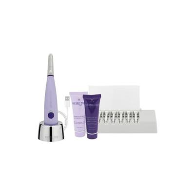 Michael Todd Beauty Lavender Sonicsmooth Sonic Dermaplaning Tool - 2 in 1 Women's Facial Exfoliation & Peach Fuzz Hair Removal System