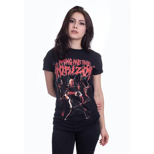 Bring Me The Horizon - Lightning - - T-Shirts