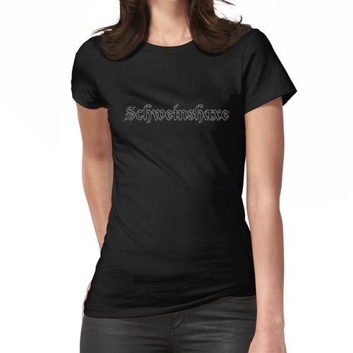 Lustige deutsche Wörter - Schweinshaxe Frauen T-Shirt