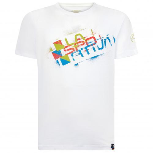 La Sportiva - Square Evo - T-Shirt Gr L weiß