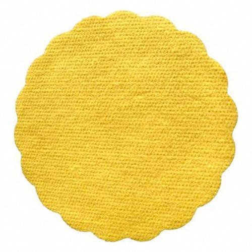 2000x Tassenuntersetzer Glasuntersetzer Airlaid O 9cm gelb