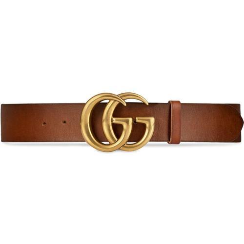 Gucci Ledergürtel mit GG