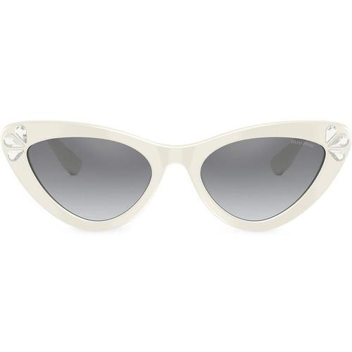 Miu Miu Sonnenbrille mit Strass
