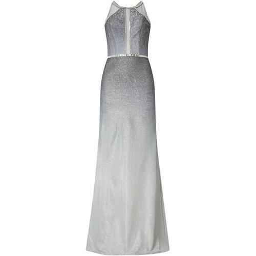 Luxuar Abendkleid im Meerjungfrau-Stil mit Effektgarn