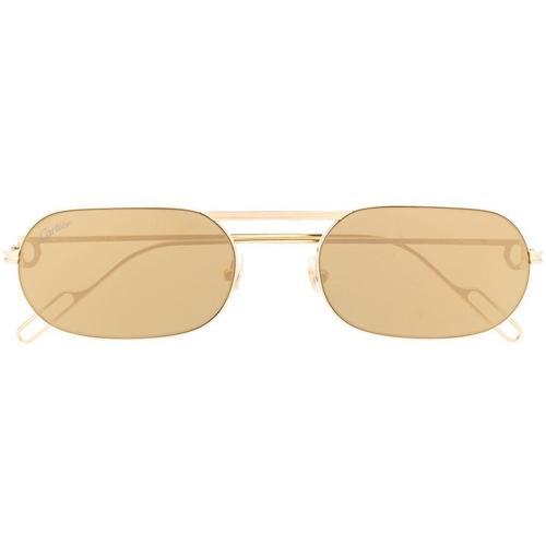 Cartier Ovale Sonnenbrille