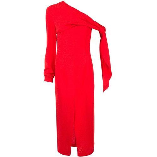 Matériel Schulterfreies Kleid