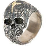 Tobias Wistisen Bague Cross & Skull