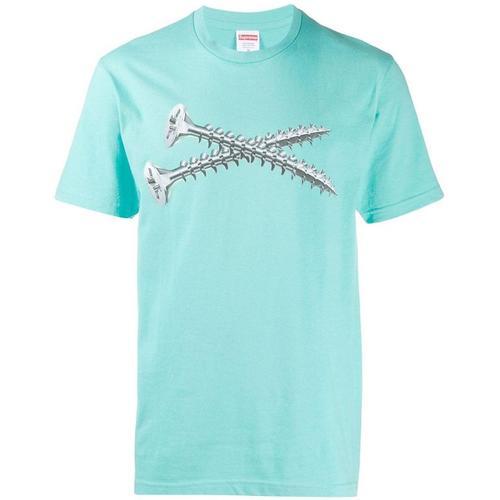 Supreme T-Shirt mit Schraube-Print