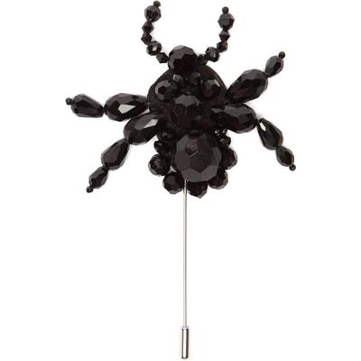 4 MONCLER SIMONE ROCHA Broche à ornements perles Spider