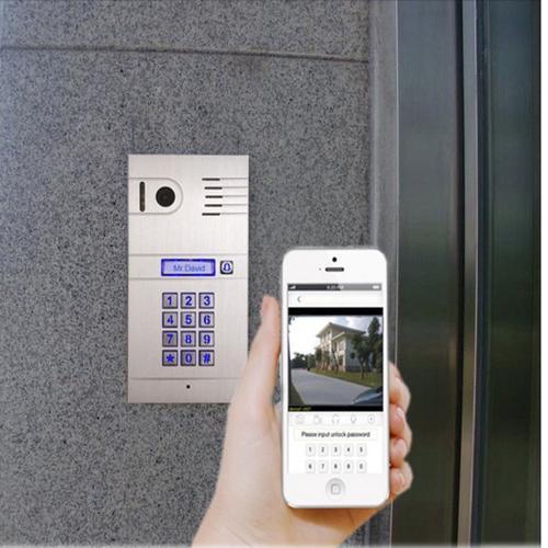 Wifi Wlan Video Türsprechanlage Sprechanlage Smartphone