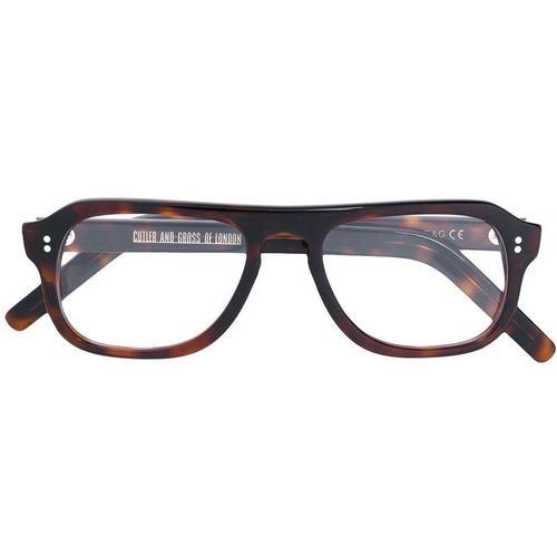 Cutler & Gross Brille mit quadratischem Gestell