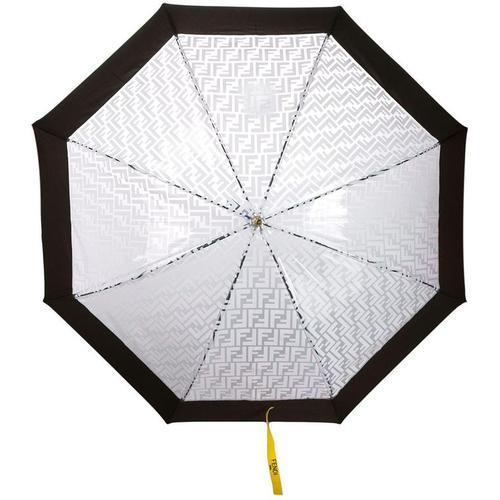 Fendi Regenschirm mit FF-Logo