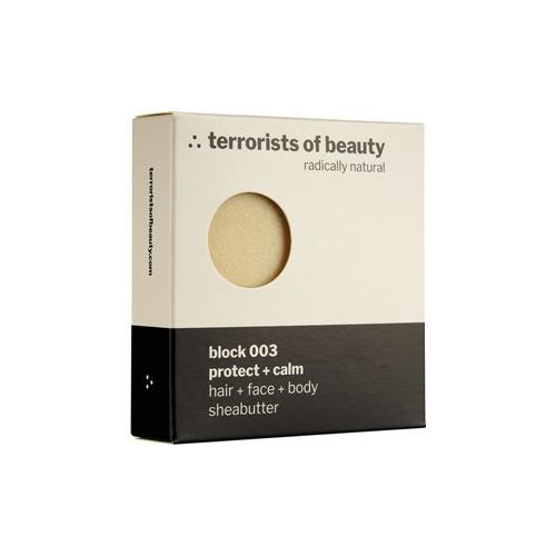 Terrorists of Beauty Pflege Seifen Block Protect + Calm White Nr. 003 1 Stk.