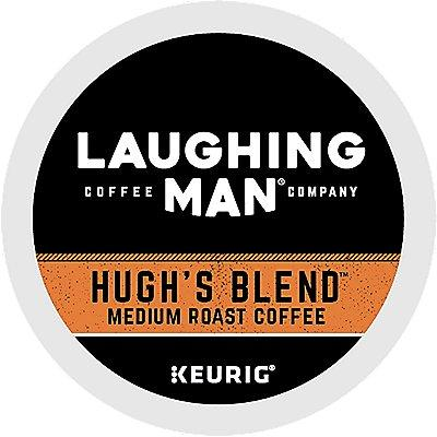 22 Ct Laughing Man Hugh's Blend™ Coffee K-Cup® Pods. Coffee