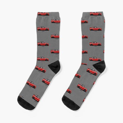 Roter E30 - Artwork Socken