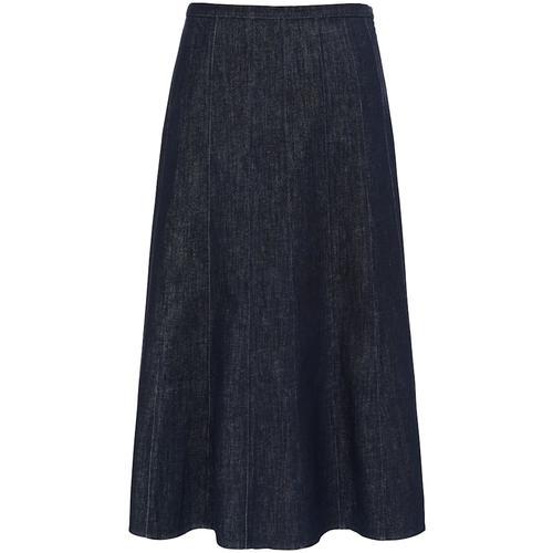 Jeansrock im Bahnenschnitt Anna Aura dark blue