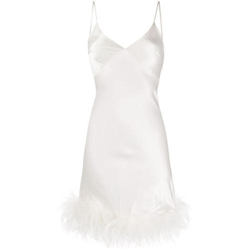 Gilda & Pearl 'Mia' Kleid mit Federn
