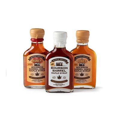 Bourbon Barrel Maple Syrup Trio