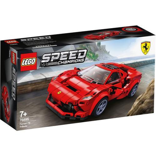 LEGO® Speed Champions 76895 Ferrari F8 AT!!!, bunt