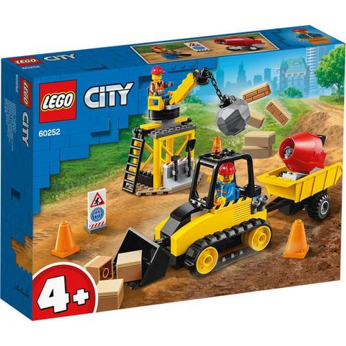 LEGO® City 60252 Bagger auf der Baustelle, bunt