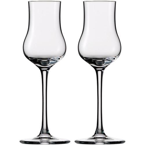 Eisch Schnapsglas Jeunesse, (Set, 2 tlg.), bleifrei, 90 ml, 2-teilig farblos Kristallgläser Gläser Glaswaren Haushaltswaren