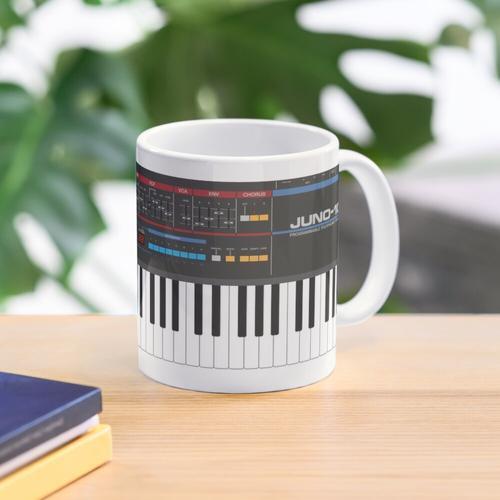 Roland Juno-106 Synthesizer Keyboard Mug