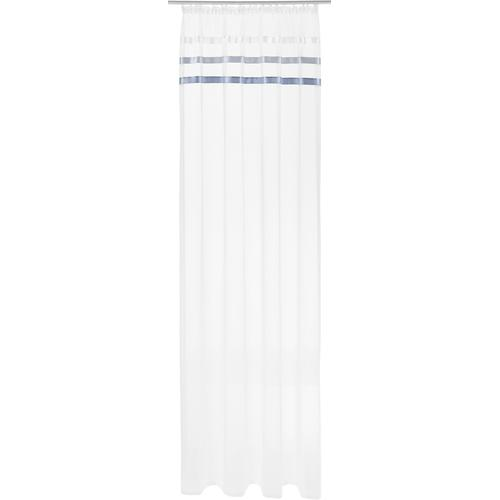 my home Gardine Eby weiß Wohnzimmergardinen Gardinen nach Räumen Vorhänge