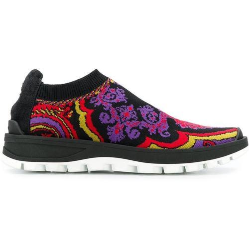 Etro Geflochtene Sneakers