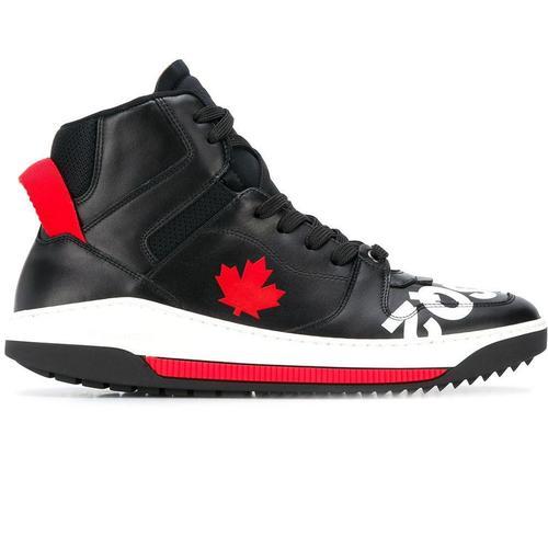 DSquared² Sneakers mit Ahornblatt