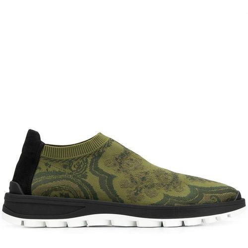 Etro Sock-Sneakers mit Jacquardmuster