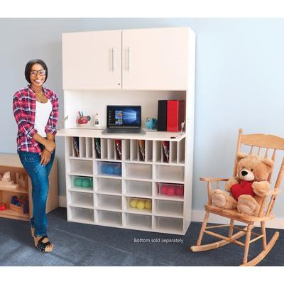 Whitney White Workstation Cabinet - Whitney Brothers WB0662