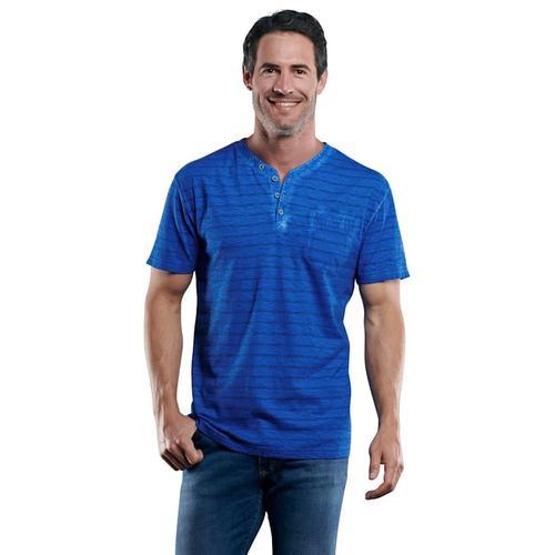 Henley T-Shirt Engbers Wasserblau