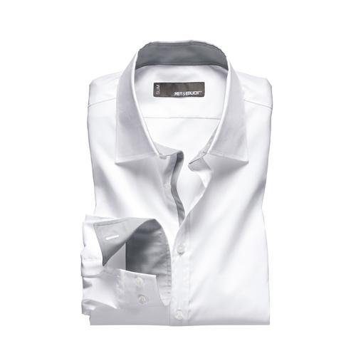 Mey & Edlich Herren Dynamic-Shirt weiß 39, 40, 41, 42, 43, 44