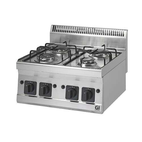 GI 600 TL Gaskocher 4 Brenner