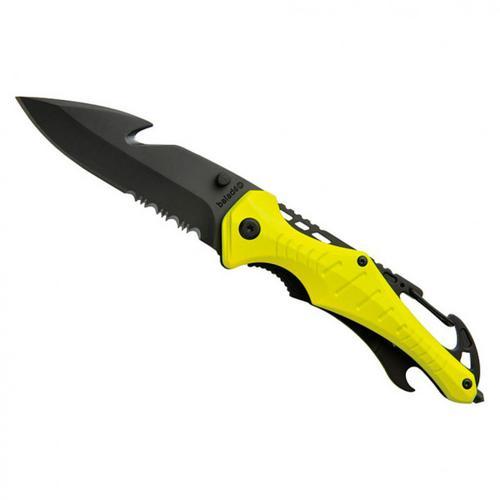 Baladéo - Rettungsmesser Emergency - Messer Gr 148 g neon gelb
