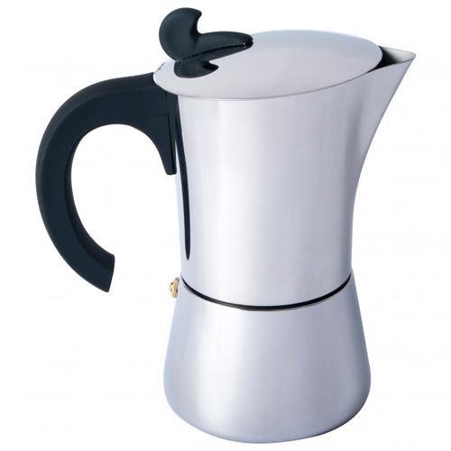 Basic Nature - Espresso Maker Edelstahl Gr 4 Tassen;6 Tassen