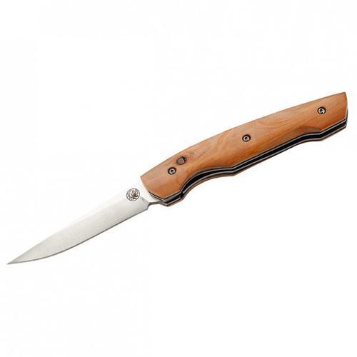 LUG - HY101 Taschenmesser - Messer wacholderholz griff