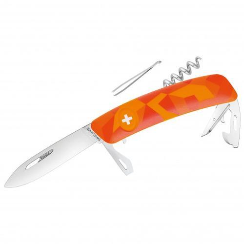 Swiza - Schweizer Messer C03 - Messer Gr 7,5 cm orange