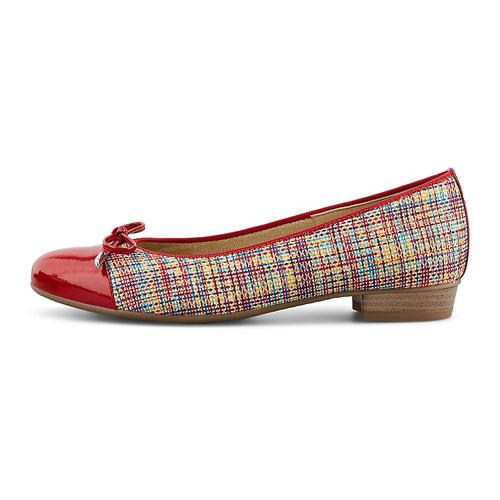 ara, Ballerina Bari in rot, Pumps für Damen Gr. 39