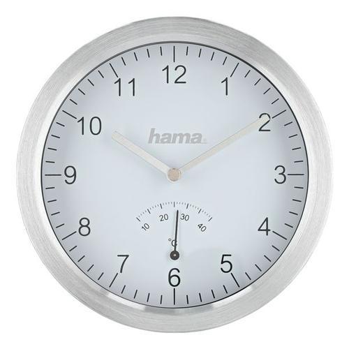 Wanduhr »Badezimmer«, Hama