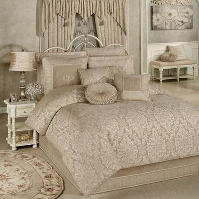 Grandview Comforter Set Champagne, King, Champagne