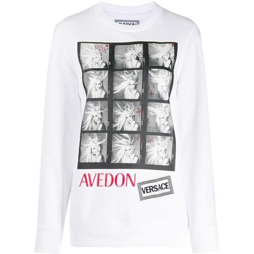 Versace 'Avedon' T-Shirt mit Foto-Print