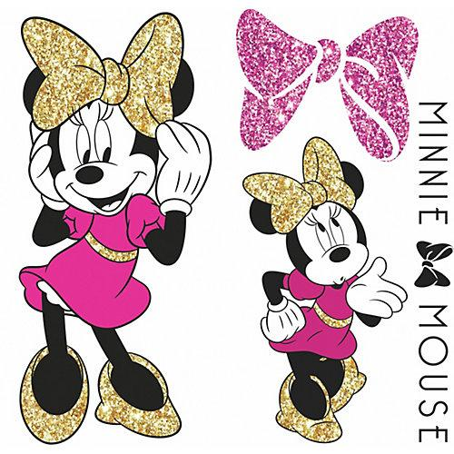 Wandsticker Disney Minnie Mouse Glitter