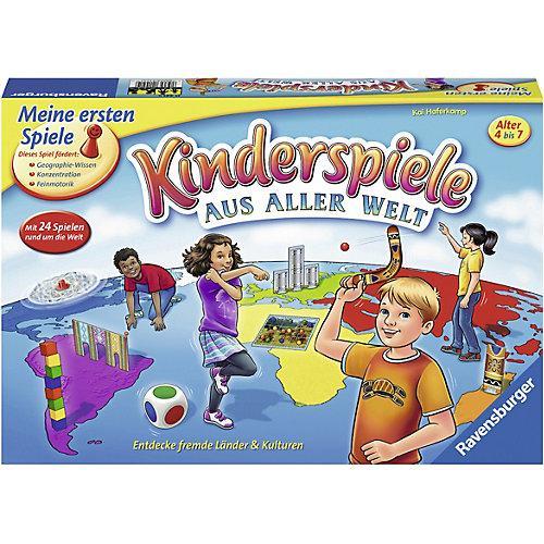 Aktion- und Brettspiel Kinder-Spiele aus aller Welt