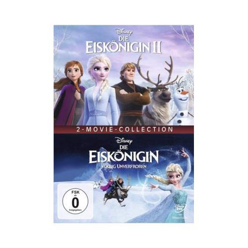 DVD Die Eiskönigin 1 - Völlig unverfroren / Die Eiskönigin 2 Hörbuch