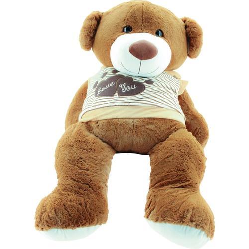 Sweety Toys Riesen Teddy Teddybär LOVE YOU Bär 120 cm