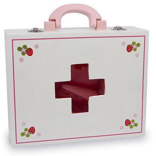 Arztkoffer aus Holz bunt