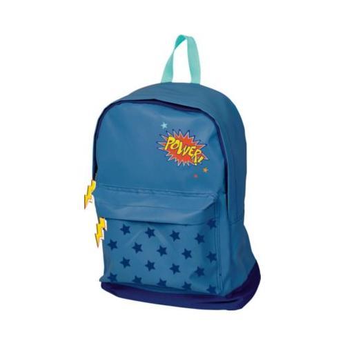 Glühwürmchen: Großer Rucksack POWER! (blau)